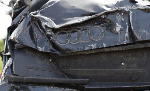 На улице Калнциема столкнулись четыре автомобиля