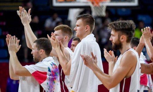 Latvijas basketbola izlasei pēc veiksmīgā 'Eurobasket' 17 vietu kāpums pasaules rangā