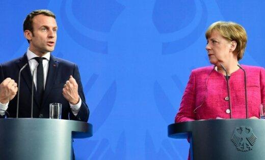 Макрон и Меркель договорились о реформировании Евросоюза