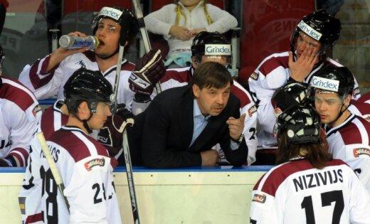 Latvijas hokeja izlasei būs 11 pārbaudes spēles