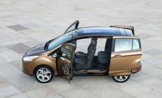 'Ford' nolēmis pārtraukt 'B-Max' modeļa ražošanu