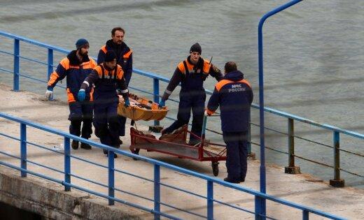 Тела погибших при крушении Ту-154 могут находиться внутри фюзеляжа