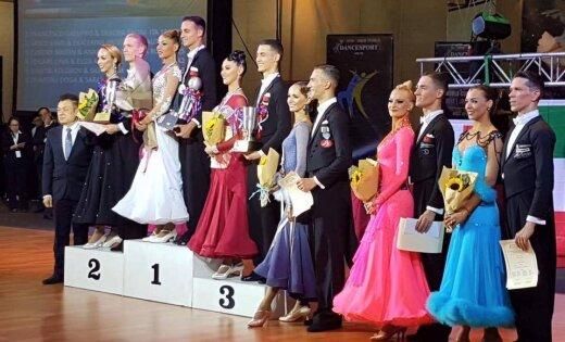 Latvijas sporta deju pāris Pasaules kausā Malaizijā izcīna ceturto vietu standartdejās