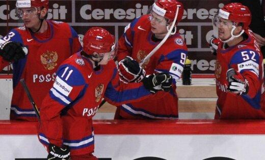 Krievijai 'sausā' uzvara pār Čehiju
