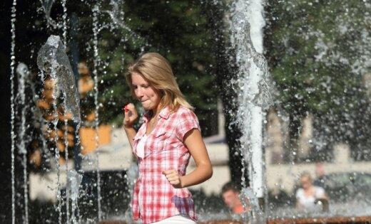 Рижской думе подарят интерактивный фонтан в парке Кронвалда