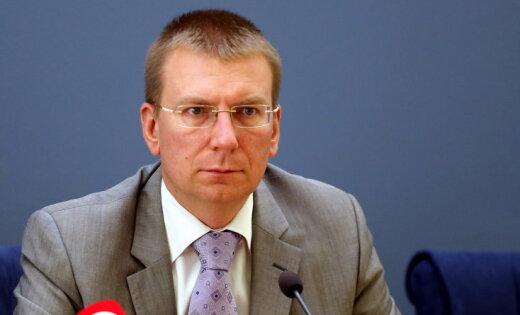 Rinkēvičs: Ukrainas notikumu ēnā Eiropā aizvadīts 'baisais gads'