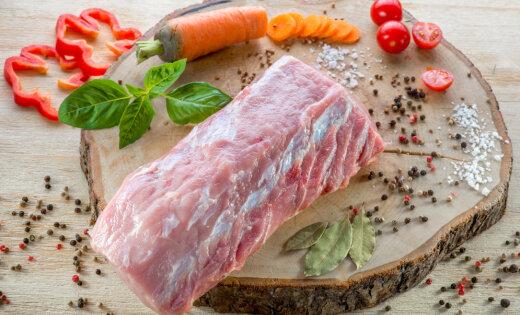 В Латвии цена на свинину снижается медленнее, чем в других странах Европы