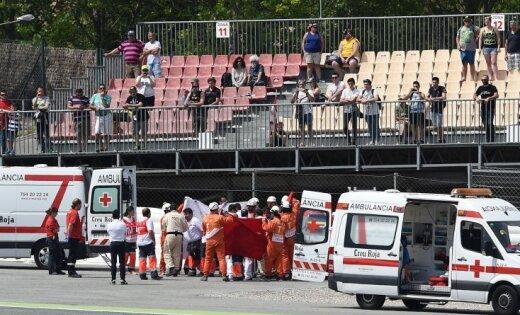 14-летний мотогонщик скончался в результате аварии на трассе в Барселоне
