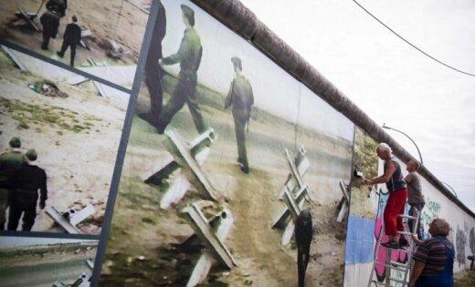 'Viņpus sienai': stāsti par vajāšanu 'nepareizajā' Berlīnes mūra pusē