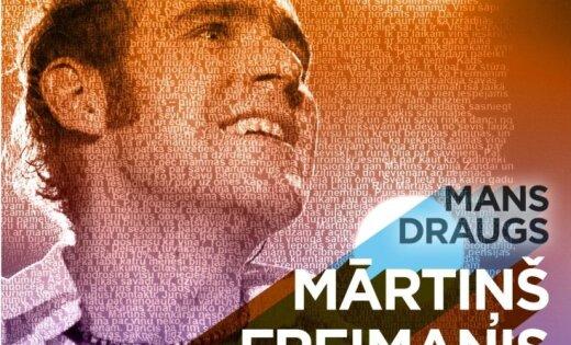 Noklausies! Mārtiņa Freimaņa draugu koris iedzied dziesmu 'Sapņu tilti'