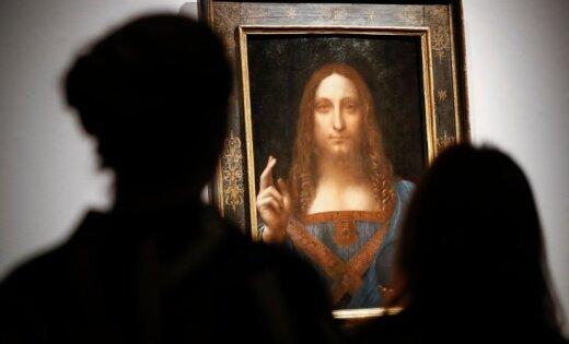 Da Vinči rekorddārgā glezna 'Salvator Mundi' dodas uz Abū Dabī Luvru