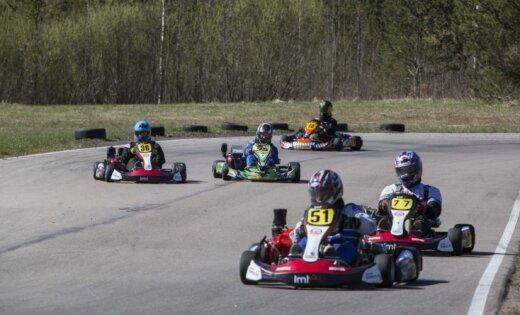 'LMT Autosporta Akadēmijas' Skolu kartingu kausa pirmajās sacensībās uzvar Daugavpils Būvniecības tehnikums