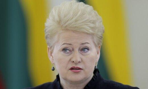 Грибаускайте: в реальности Россия ведет себя еще хуже, чем во времена Сталина