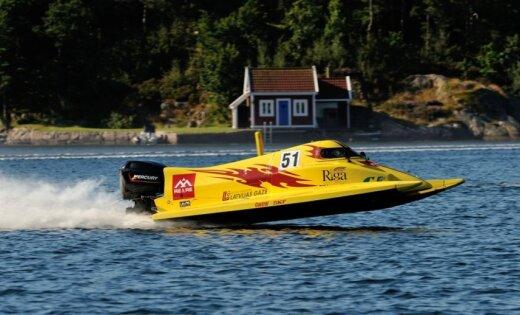 Ātrumlaivu pilotam Slakterim F2 PČ pēdējā posmā 'Match Race' čempiona tituls