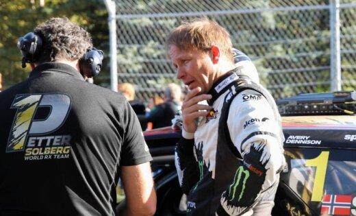 'World RX' čempions Peters Solbergs iegūst VW rūpnīcas atbalstu