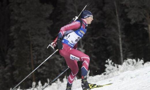 Rastorgujevam 15. vieta 20 km individuālajā distancē Rūpoldingā