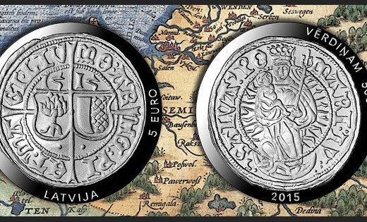 Банк Латвии выпускает