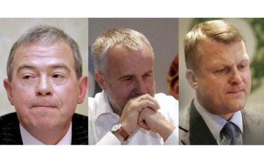 Žurnāls: 'oligarhu lietas' 'RTO' shēmā figurē arī Lembergs un Šķēle