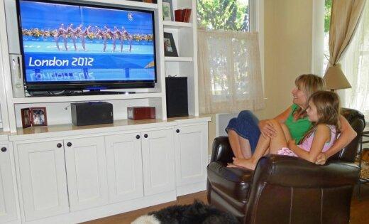 Londonas Olimpiskās spēles bijušas skatītākās ASV televīzijas vēsturē