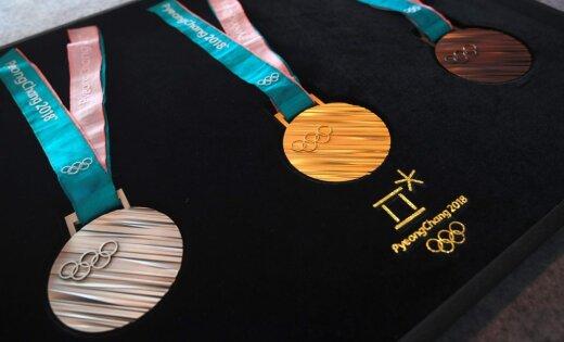 Медали зимней Олимпиады-2018 представили вСеуле ФОТО