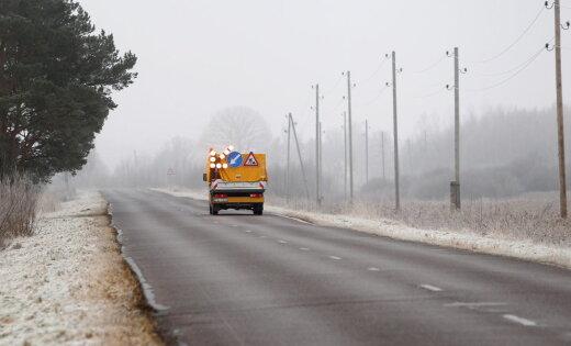 Atsākas remontdarbi uz ceļa, kas ved no Daugavpils uz Baltkrieviju
