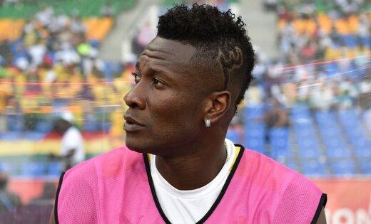 Футболиста сборной Ганы оштрафовали заирокез