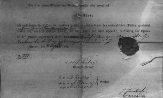 Lasītāja relikvija: Cīravas baronlielskunga muižas līgums