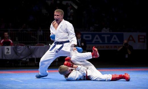 Karatists Kalniņš izcīna piekto vietu pasaules čempionātā