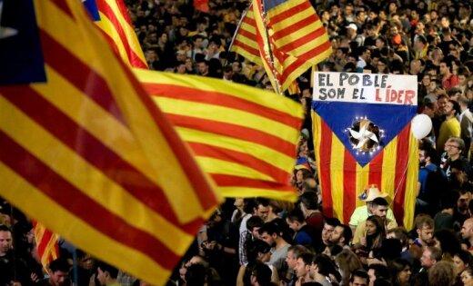 Руководитель  парламента Каталонии вышла насвободу
