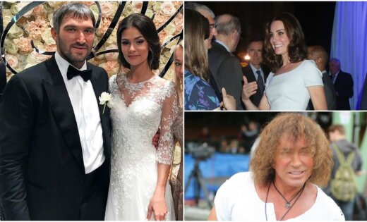 Nedēļas trakumi: Ovečkina kāzas, hercogienes pārvērtības un zvaigžņu prasības Jūrmalā