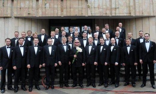Vīru koris 'Gaudeamus' uzsāk Latvijas simtgadei veltītu koncertu ciklu