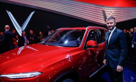 Bekhems prezentējis vjetnamiešu automobiļus uz BMW bāzes