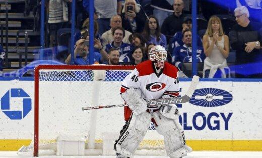 Менеджер поэкипировке клуба НХЛ сыграл вофициальном матче команды