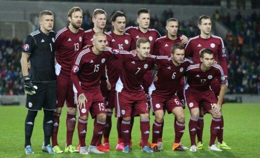 Крутое пике. Сборная Латвии упала на рекордно низкую высоту в рейтинге ФИФА