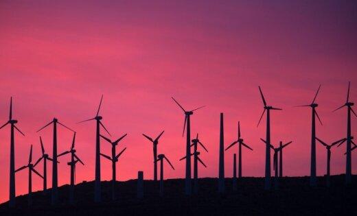 Шведы за 250 млн евро построят крупнейший в Латвии парк ветрогенераторов