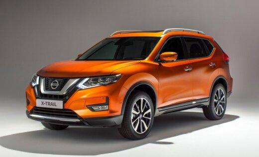 'Nissan' modernizējis 'X-Trail' modeli Eiropas tirgum
