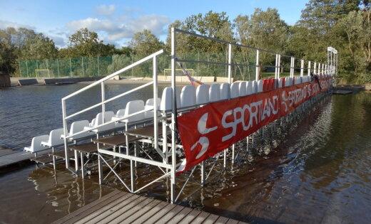 ФОТО: Был стадион для футбола, теперь - для водного поло