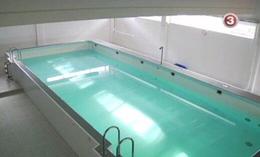 После трагедии решено прекратить обучение в бассейне Вентспилса
