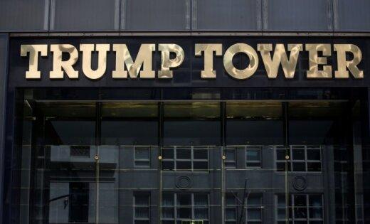 ВНью-Йорке полыхает вTrump Tower