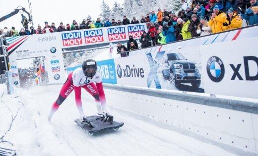 Александр Третьяков одержал победу этап Кубка мира поскелетону вГермании