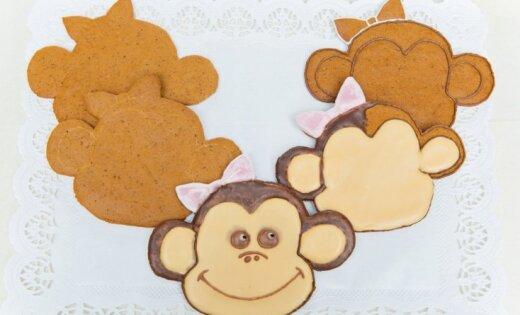 Soli pa solim: kā kopā ar bērniem pagatavot burvīgus piparkūku pērtiķēnus?