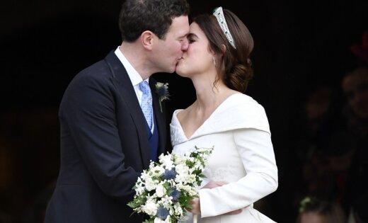 Foto: Ieskats britu karaliskajās kāzās