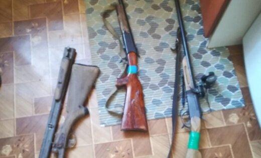 Ludzas novadā konfiscē nelikumīgi glabātus šaujamieročus