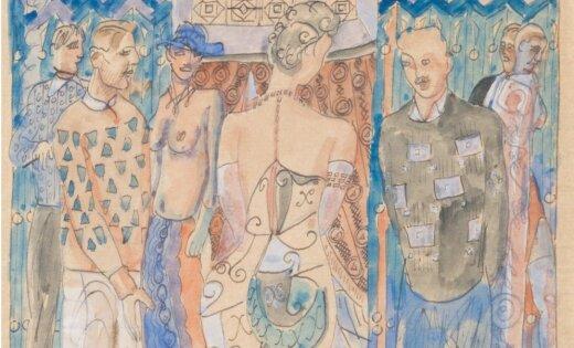Mūkusalas Mākslas salonā atklās Latvijas glezniecības zelta fonda izstādi