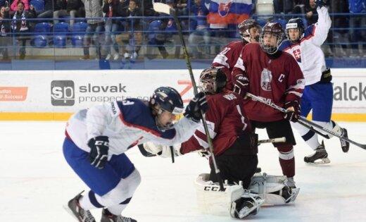 Latvijas U-18 izlasei zaudējums; nāksies cīnīties par vietas saglabāšanu augstākajā divīzijā