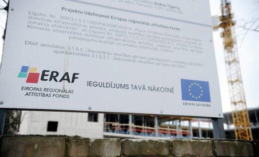 Pašvaldību uzņēmējdarbības projektos no ERAF plānots ieguldīt 300 miljonus eiro