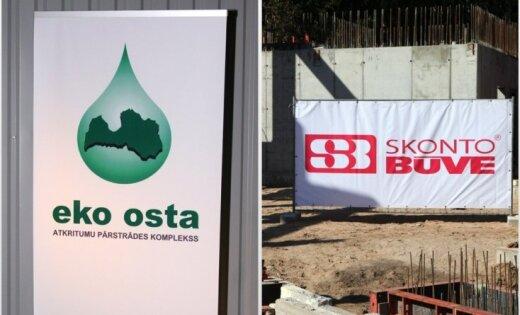 'Eko osta' turpina prasīt 'Skonto būve' samaksu par padarīto darbu