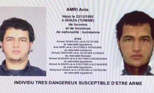 Вберлинском теракте подозревается выходец изТуниса Анис Амри