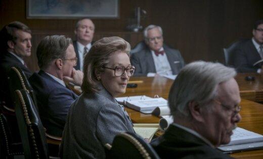 Sāk demonstrēt Stīvena Spīlberga jauno, 'Oskaram' nominēto filmu 'Slepenie dokumenti'