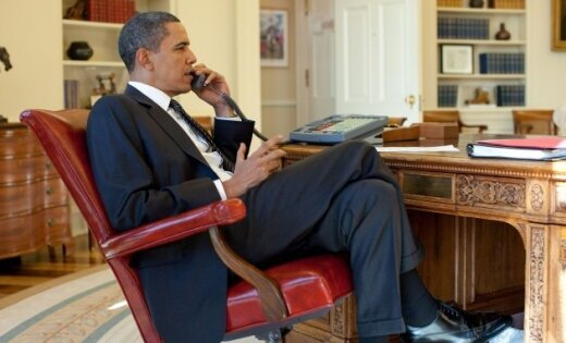 Baraks Obama – gads Baltajā namā